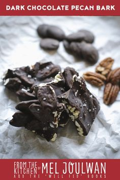 A luscious balance of salty, sweet, crunchy, and smooth. This homemade candy is fast and easy to make—perfect for a party or hostess gift. Low Carb Sweets, Gluten Free Sweets, Low Carb Desserts, Healthy Desserts, Easy Candy Recipes, Snack Recipes, Dessert Recipes, Paleo Recipes, Paleo Baking