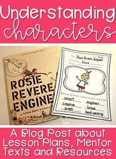 Lesson Ideas for Teaching Understanding Characters | The Sassy Sub