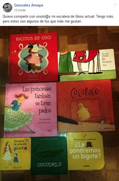 Gonzalez Amaya Books, Book Stairs, Early Childhood, Reading, Art, Libros, Book, Book Illustrations, Libri