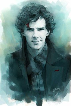Sherlock (btw super excited for series 3!! I'm feeling all the feeeels X3)