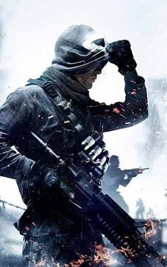 Call Of Duty, Unique, Ghosts, Squad, Military Branches, Ps4, Video Games, Battle, Gaming