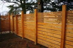 horizontal fences design google search