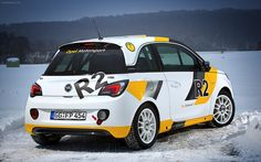 Opel Adam R2 Rally Car Concept 2013 #evocorse #wheels