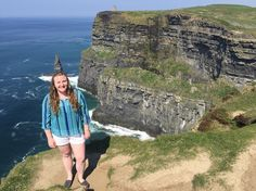Missing Ireland and the people I met there a little more today. I wish I was celebrating St. Patrick's Day on this beautiful island. One day I will be back. #Ireland #cliffsofmoher #stpatricksday #studyabroad #apistudyabroad by marefultz