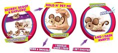 Little Live Pets - Planet Fun. They are the cutest little mice ever!