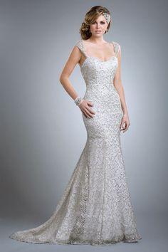 Olia Zavozina Diana lace wedding gown   Deco