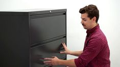 Are you having trouble opening your filing cabinet drawer? Learn how to unlock the lock bar on your lateral file cabinet. Cabinet Drawers, Filing Cabinet, Lateral File, Paper Storage, Cabinets, Metal, Products, Armoires, Wall Cupboards