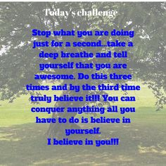 Today's challenge | My Friend Caroline