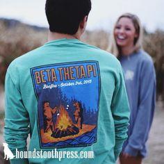 Beta Theta Pi T-Shirt | #LoveTheLab houndstoothpress.com | Beta Theta Pi Shirts…