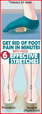 Get Rid Of The Foot Pain In Minutes With These 6 Effective Stretches