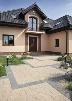 Znalezione obrazy dla zapytania penter dresden semmelrock Design Case, Pool Houses, My Dream Home, Home And Living, Future House, Beautiful Homes, House Plans, Entryway, Backyard