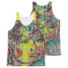 Norma All-Over-Print Tank Top - personalize custom customizable