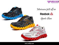 It's time to change your #shoes with comfortable and fast shoes of #Reebok at minimum #discount of 50%. Click here to buy:http://bit.ly/1MHbr6e