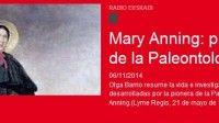 La paleontóloga Mary Anning (1799-1847) nació un 21 de mayo