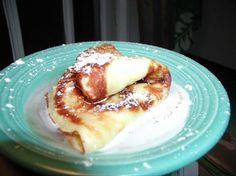 Single Crepe Recipe great when you want an easy quick breakkie with no leftovers!