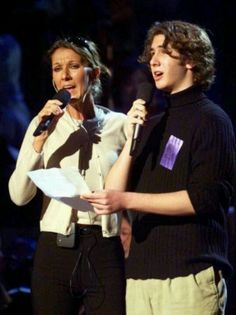 The photo that started it all. Josh and Celine. IN THE BEGINNING... There was a 17-year-old boy..