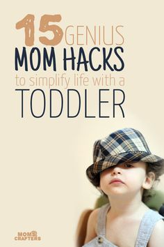 Check out these genius mom hacks - you'll wish you'd have seen them sooner! They're mostly for parenting toddlers and babies.