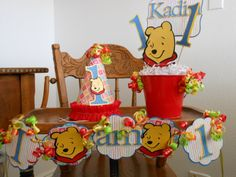 winnie the pooh birthday party - Google Search