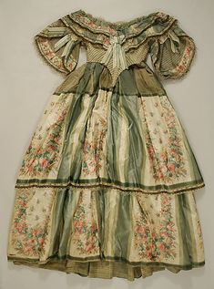Dress    Date:      1856–59  Culture:      American  Medium:      silk