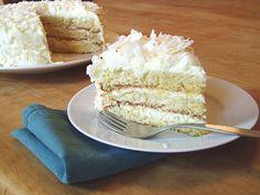 Gluten-Free Coconut Layer Cake