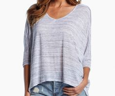 Super soft versatile v neck! We are in ❤!