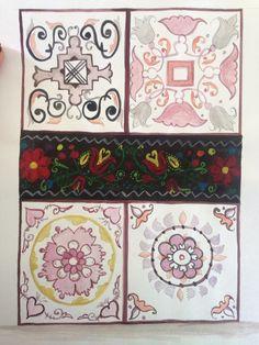 Hungarian style pattern