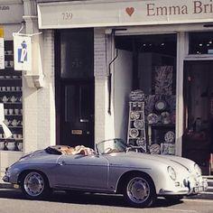 Car on London