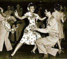 jitterbug jive 1940s dancing photo