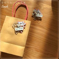 ★「手作りカードくらす」のご案内 - Class / 手作りカードくらす Crafts To Make, Paper Shopping Bag, Cherry, Crafty, Blog, Artesanato, Blogging, Prunus