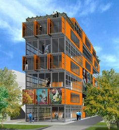 Shipping Container Apartments