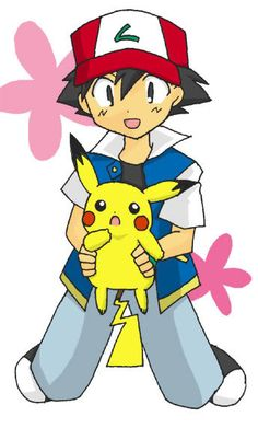 Beautiful ♡ Ash and Pikachu ^.^ ♡