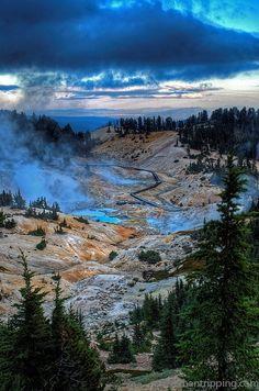 Bumpass Hell, Lassen Volcanic Park @ManTripping
