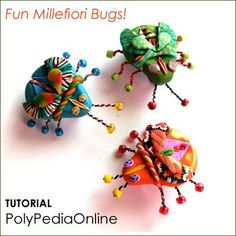 Polymer Clay Tutorials - Polymer Clay Bugs Tutorial and Hollow ...