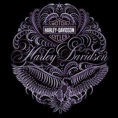 Purple Harley art          ❤lf