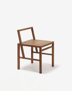 Bahk Jong Sun; Walnut Chair, 2009.