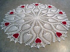 Valentine's doily - need to find pattern for this