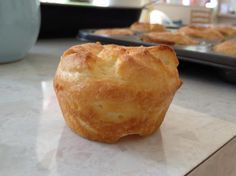 English Dinner Recipes - Yorkshire Pudding - Gluten Free. Photo by AlexEstwick