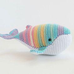 Радужный кит | Игрушки Ручной Работы| Оригинальный Подарок| Купить Подарок| Что подарить| Дети И Воспитание| Идеи Подарков| Игрушки развивающие| Дети Развитие| Игрушки Крючком Плюшевые| Игрушки Мягкие