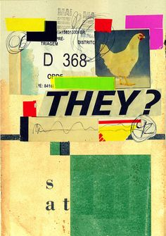 typographicposters.com | Collage who are they 2015 poster by marcos faunner