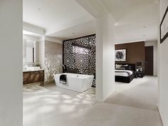 Awesome Master Bedroom Ensuite Bathroom Open Plan Bathroom Bedroom Enchanting Master Ensuite Bathroom Designs Review