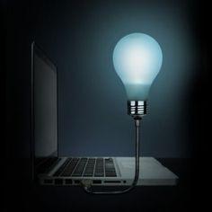 Bright Idea - USB Lightbulb