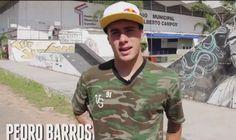 Skate em Florianópolis com Pedro Barros - Clube do skate