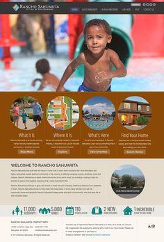 Rancho Sahuarita Website Design and Development