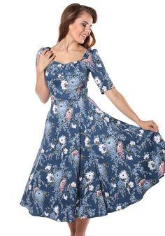 Dolores Doll Blue Garden, 50's Mekko - Collectif