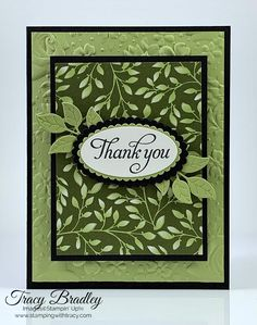 Handmade Card Featuring Stampin Up Floral Romance Designer Series Paper From The Occasions Catalog