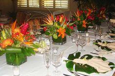 Hawaiian / Tropical theme is exotic beautiful.