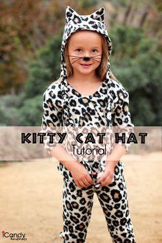 icandy handmade: Kitty Cat Hat Tutorial