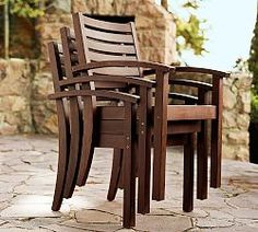 Outdoor Wood Furniture & Wooden Outdoor Furniture | Pottery Barn