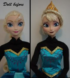 OMG WHAT JUST HAPPENED i am not quite sure but i love it because the Elsa doll they have out really does not look anything like her and i love this. The second doll should be released! http://bestcheapbabystuff.com/dolls/disney-frozen-doll/the-best-choice-of-disney-frozen-doll/