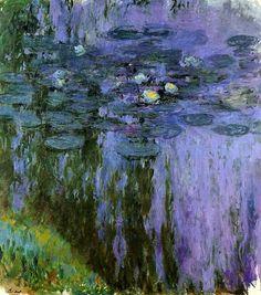 Claude Monet. Water Lilies (1919).